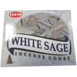 """Cônes sauge blanche """"HEM"""""""