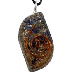 Pendentif Orgonite (Lapis-Lazuli)