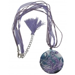 Collier violet  vague