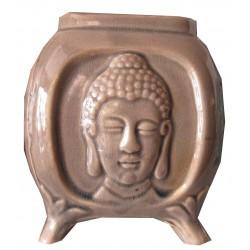 Brûle parfum marron clair Bouddha