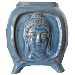 Brûle parfum Bouddha bleu foncé
