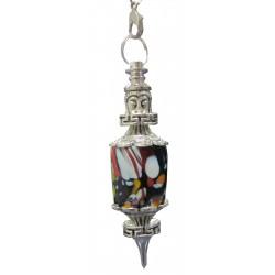 Pendule porcelaine Bouddha