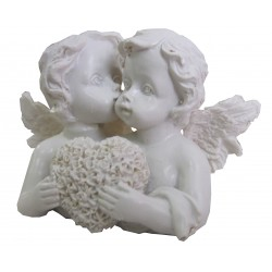 Couple d'anges coeur