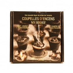 "Charbon+encens Myrrhe ""Aromatika"" DISPONIBLE OCTOBRE"