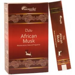 """Encens African Musk """"Védic Aromatika"""" 15gr"""