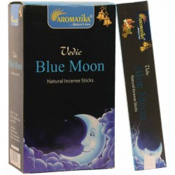 """Encens Blue Moon (Lune Bleue)"""" Védic Aromatika"""" 15gr"""