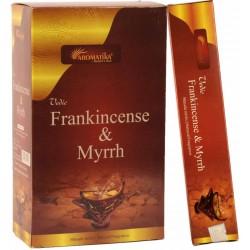 "Encens Frank Incense&Myrrh(Oliban Myrrhe) ""Védic Aromatika""15gr"