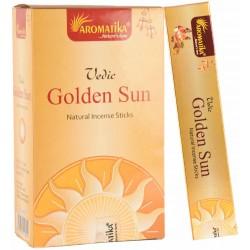 """Encens Golden Sun """"Védic Aromatika"""" 15gr"""