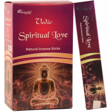 "Encens Spiritual Love (Amour Spirituel) ""Védic Aromatika"" 15gr"