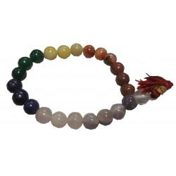 Bracelet  Mala pierre  Chakras