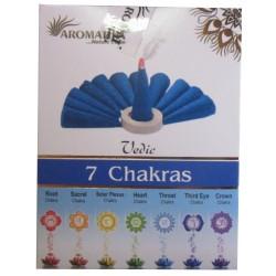 "Encens cônes Chakras 7 ""Védic Aromatika"""