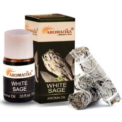 "SAUGE BLANCHE (Aroma Oil)  ""Aromatika"" 10 ml"