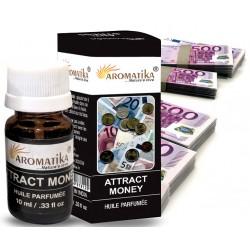 "ATTRACT MONEY (Attire l'argent) (Aroma Oil) ""Aromatika"" 10 ml"