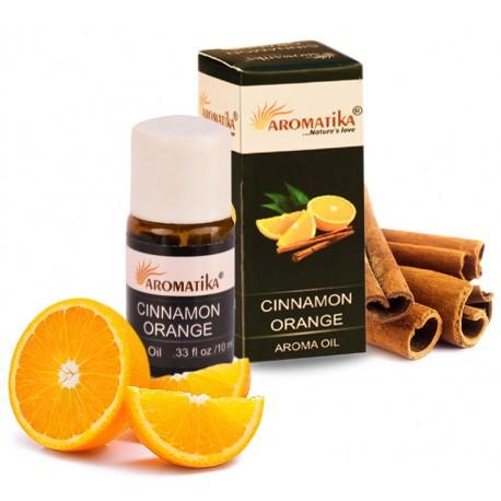 """CINNAMON ORANGE (cannelle orange) (Aroma Oil) """"Aromatika"""" 10 ml"""