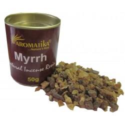 MYRRH (Myrrhe ) résine naturelle 50 gr