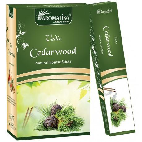 "Encens Cèdarwood (Bois de Cèdre) ""Védic Aromatika"" 15 gr"