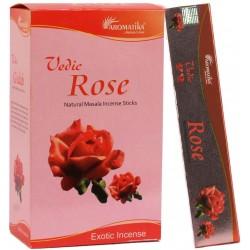 """Encens Rose Gulab """"Védic Aromatika""""  15 gr"""