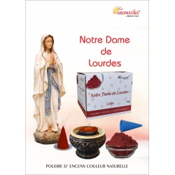 """Notre Dame de Lourdes """"AROMATIKA POUDRE 100GR"""" (avec kit pour cônes)"""
