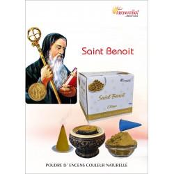 """Saint Benoit """"AROMATIKA POUDRE 100GR"""" (avec kit pour cônes)"""